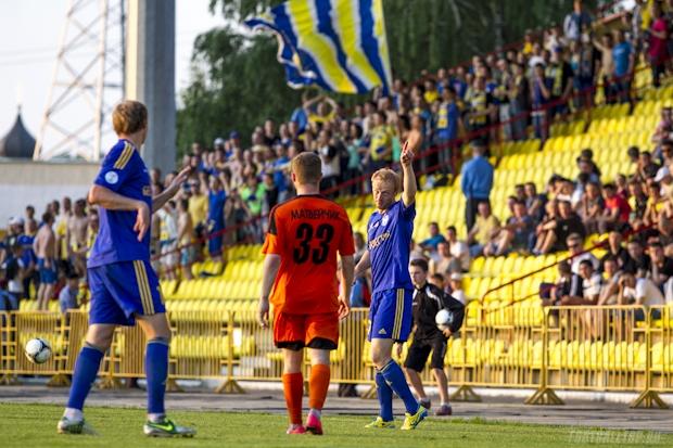 Белорусская Высшая лига. БАТЭ разгромил солигорский «Шахтер»