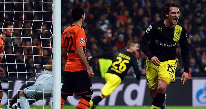 Dortmund cruises past Shakhtar