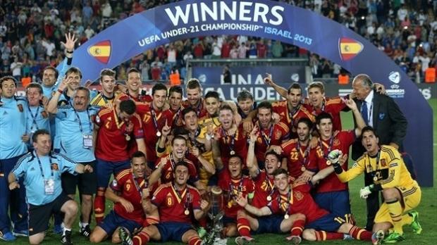 Стал известен состав символической сборной молодежного чемпионата Европы