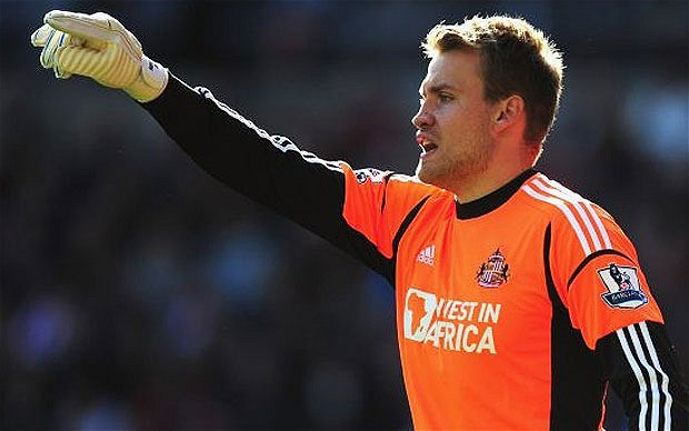 Sunderland Mignolet rules out move away from Sunderland