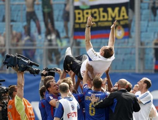 Симонян: Леонид Слуцкий добился с ЦСКА максимального успеха