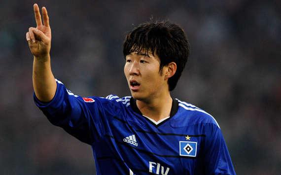 Tottenham chase Hamburg's Son Heung-Min