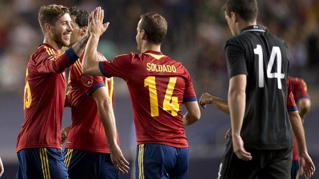 International friendlies' results: Spain beat Ireland, Italy held to a draw by Haiti