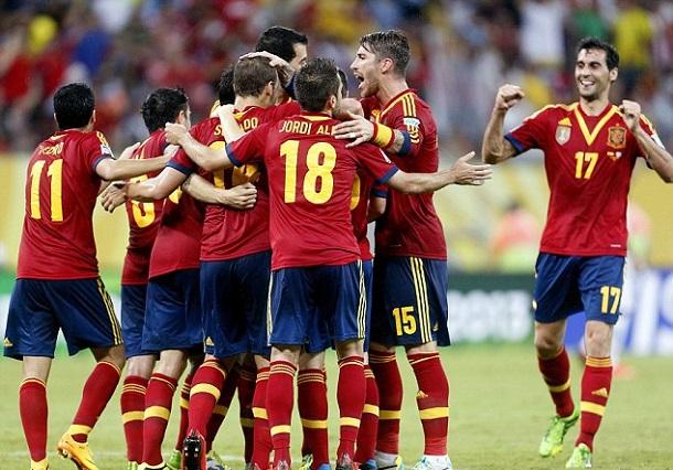 Кубок конфедераций-2013. Нигерия — Испания — 0:3. Хроника событий