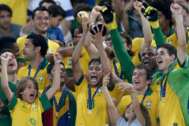 Confederations Cup results: Brazil beat Spain in style to lift the trophy (video highlights)