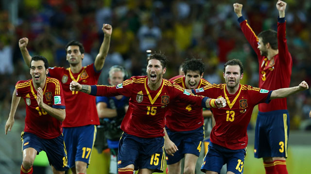 Confederations Cup results: Spain are through to the final after beating Italy 7-6 on penalties (video highlights)