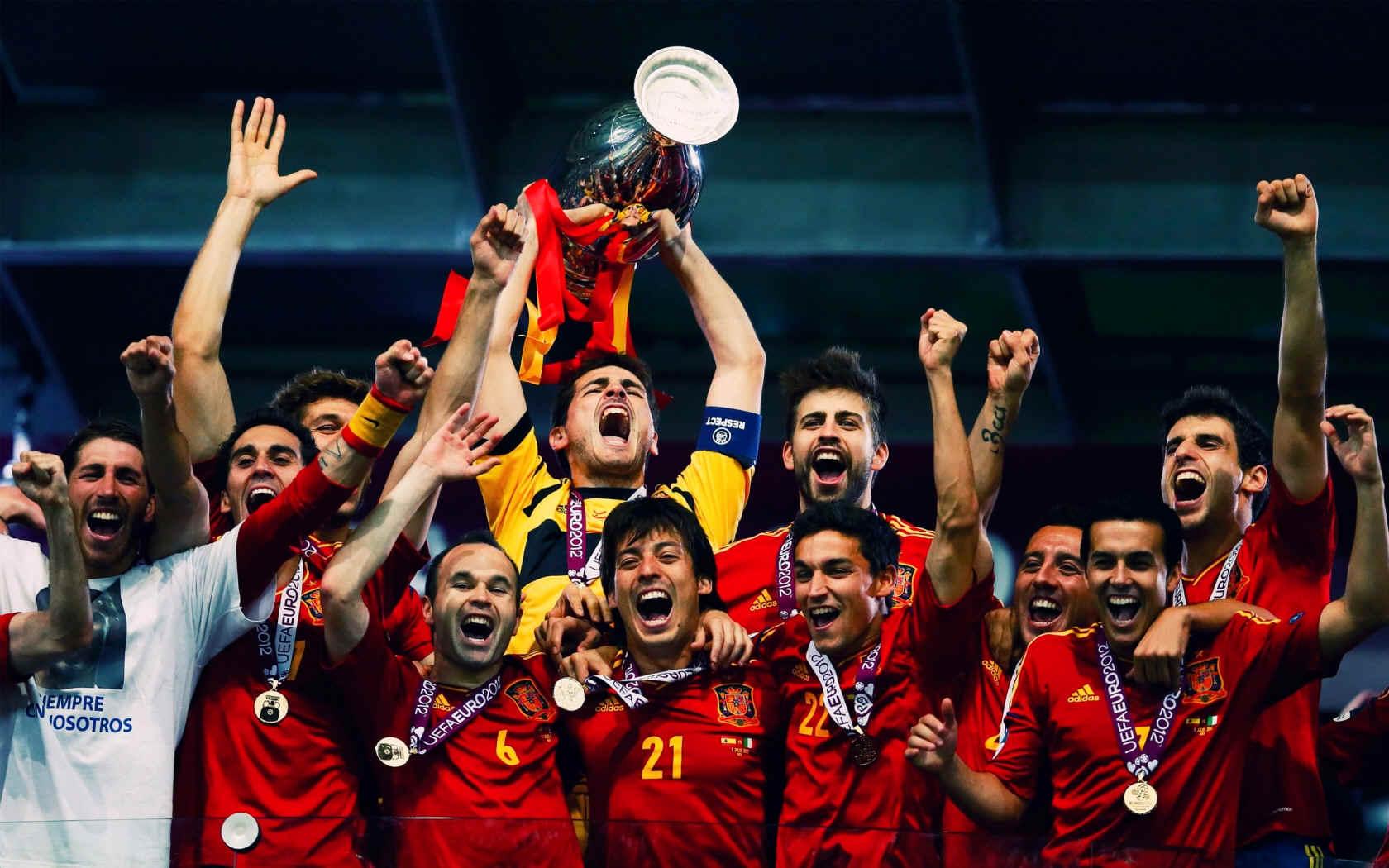 По следам отшумевшего Евро-2012. Самая сильная сборная – Испания