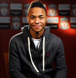 Sterling renewed his contract with Liverpool