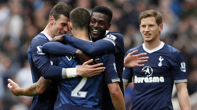 Premier League results: Stoke 1-2 Tottenham