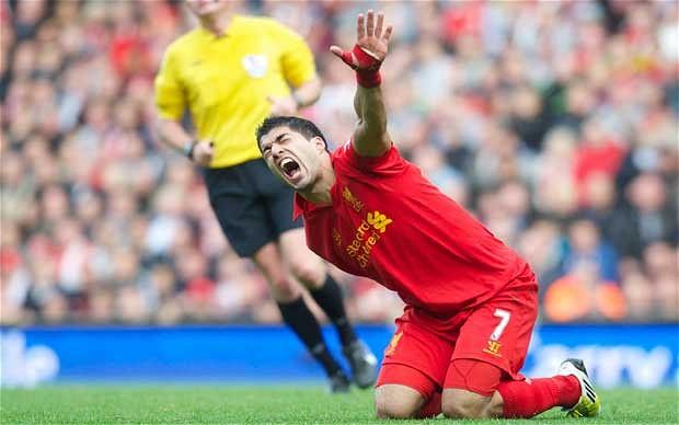 Luis Suarez faces harsh criticism for diving