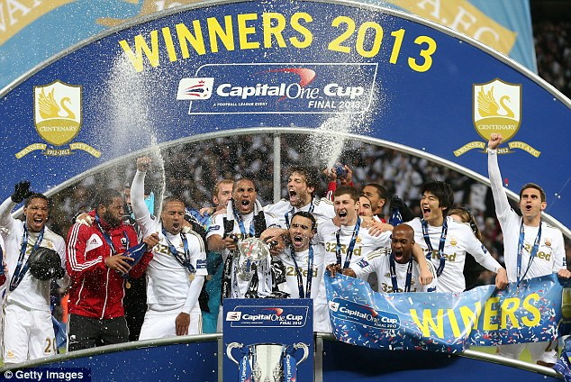 Swansea crowned Capital One Cup champions