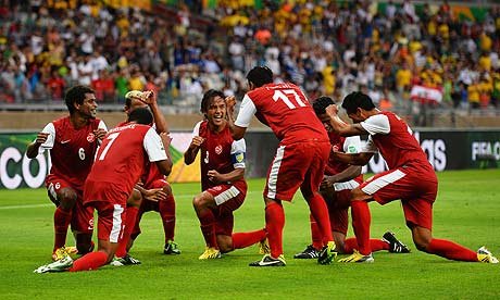 Confederations Cup results: Tahiti score their debut goal, but get thrashed by Nigeria