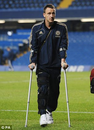Chelsea's Terry to miss the festive fixtures