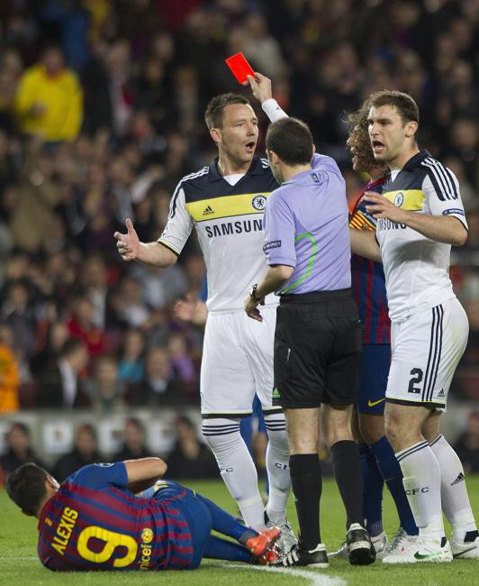 УЕФА скостила дисквалификацию Джона Терри