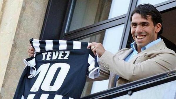 Juventus sign Tevez from Manchester City