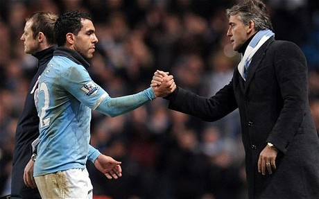 Man City Tevez rejected offer of a new contract