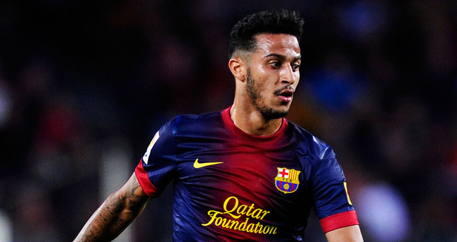 Manchester United target Thiago was sent a 'come and join' me plea by De Gea