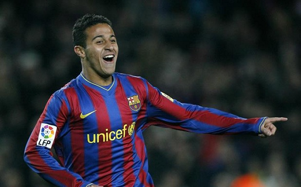 Manchester United on the verge of signing Thiago