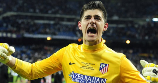 Chelsea Courtois wants to stay at Atletico for one more season