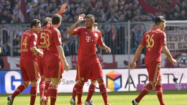 Немецкая Бундеслига. 29-й тур. «Бавария» — «Нюрнберг» — 4:0. «12-я победа подряд»