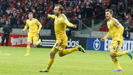 Польша — Украина — 1:3 (ОНЛАЙН-ТРАНСЛЯЦИЯ)
