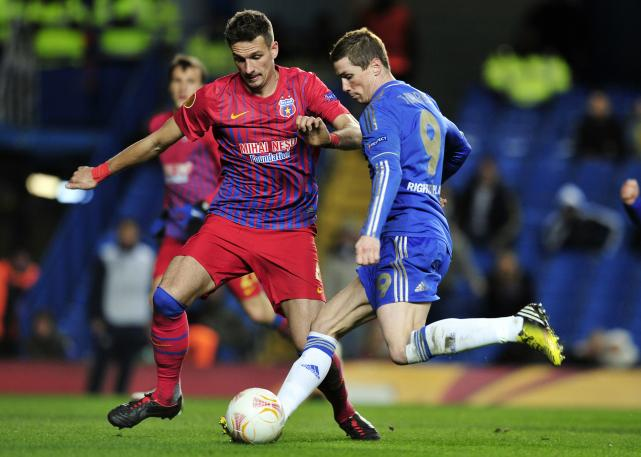Europa League last-16 results: Chelsea 3-1 Steaua Bucharest