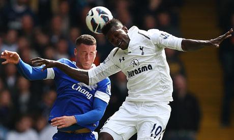 Premier League results: Tottenham Hotspur 2-2 Everton