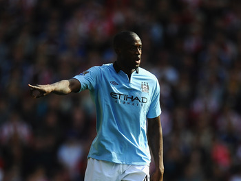 Touré wants to end his career with Man City