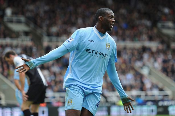 Man City Toure rules out move to PSG