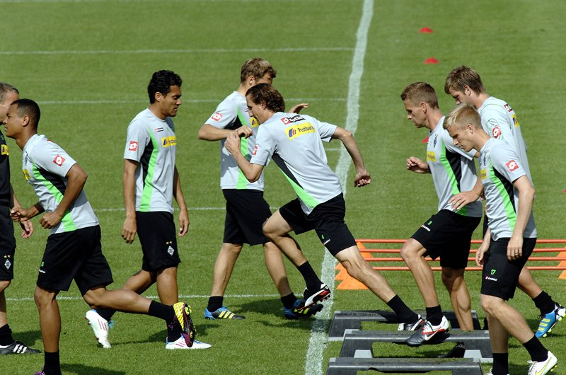 Borussia Mönchengladbach started their mid-season training camp in Dubai