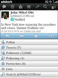 Оби Микел удалил аккаунт в «Твиттере» из-за расистских оскорблений