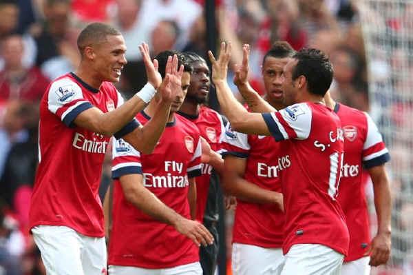 Английская Премьер-лига. 37-й тур. «Арсенал» — «Уиган» — 4:1. «Уиган» отправляется в Чемпионшип»