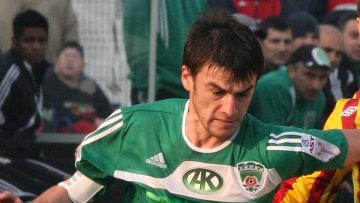 Капитан «Терека» Ризван Уциев пропустит игру против «Зенита»