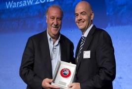 В Варшаве проходит десятая конференция УЕФА для тренеров