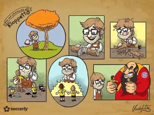 Лучшая карикатура дня. Грустные приключения папы Клоппо