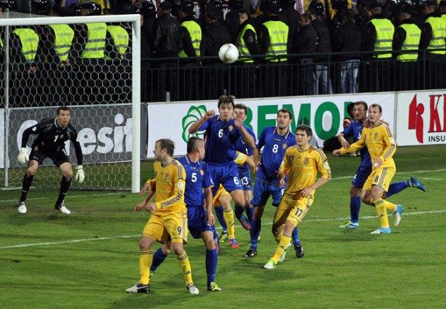 Чемпионат мира-2014. Отборочный турнир. Украина — Молдова. Прогноз. «Ще не вмерла»
