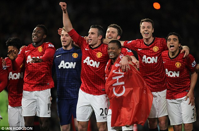 Manchester United crowned Premier League champions