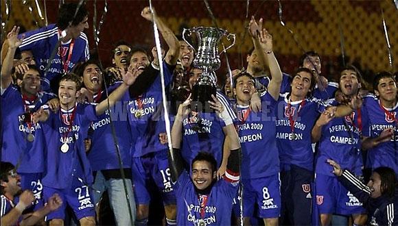 «Универсидад  де Чили» выиграл чемпионский титул страны