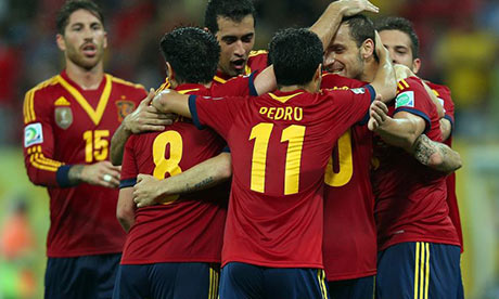 Confederations' Cup results: Spain outplay Uruguay, despite Suarez's stunning free-kick