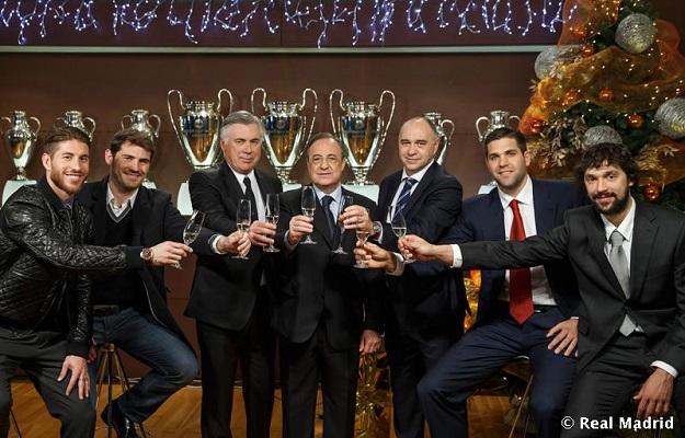 Президент, тренеры и капитаны «Реала» поздравили болельщиков с Рождеством (ФОТО)