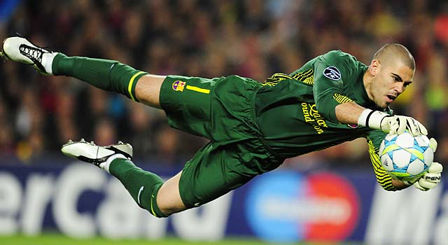 Valdes to honor his contract with Barcelona