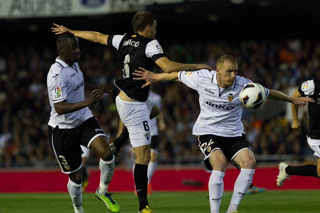 Испанская Ла лига. 1-й тур. «Валенсия» — «Малага» — 1:0. Хроника событий