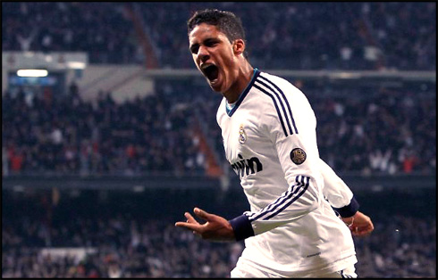 Man Utd track Real Madrid Varane
