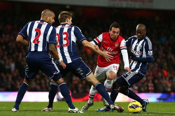 Английская Премьер-лига. 32-й тур. «Вест Бромвич» — «Арсенал» — 1:2. «Томаш Росицки: делай, как я!»