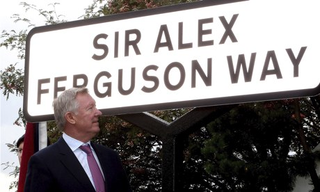 Street named after Ferguson