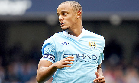 Kompany injury worry for Man City