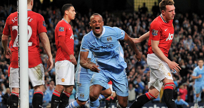 Kompany eagerly anticipates Manchester derby