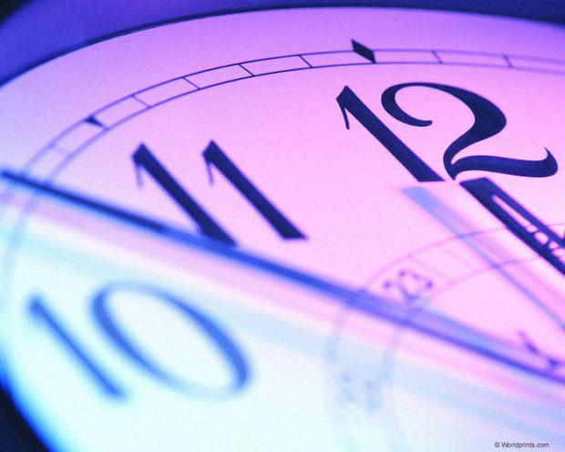 Время ушло