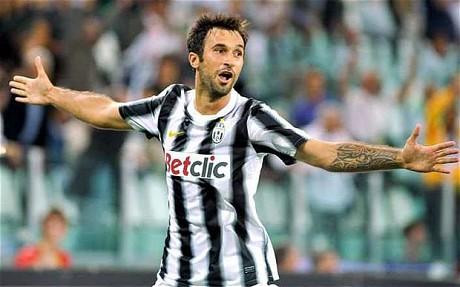 Man Utd target Mirko Vucinic