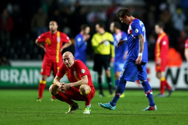 World Cup qualification results: Europe. Wales 1-2 Croatia